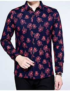 cheap Men's Shirts-Men's Vintage Shirt - Floral