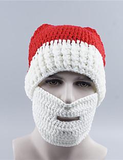 billige julen Kostymer-Nisse drakter Hatter Hvit Festet Cosplay-tilbehør Jul