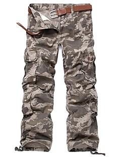 baratos Calças e Shorts para Trilhas-Homens Calças Cargo Ao ar livre A Prova de Vento, Vestível, Esportes de Inverno Inverno Calças Multi-Esporte