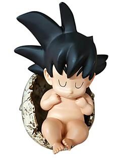 billige Anime cosplay-Anime Action Figurer Inspirert av Dragon Ball Son Goku PVC CM Modell Leker Dukke Herre Dame