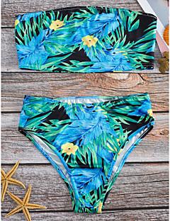 billige Bikinier og damemote 2017-Dame Bohem Bikini Blomstret
