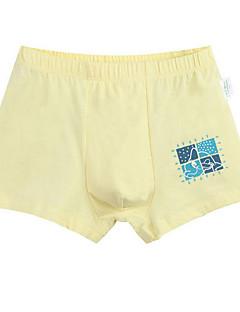 billige Undertøj og sokker til drenge-Børn Drenge Simple Ensfarvet Trykt mønster Bomuld Undertøj og strømper