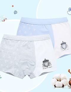 billige Undertøj og sokker til drenge-Drenge Undertøj Bomuld Alle årstider Mikroelastisk Blå Grøn