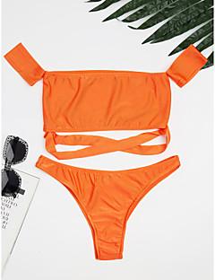 billige Bikinier og damemote 2017-Dame Bikini Cheeky Ensfarget