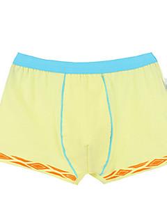 billige Undertøj og sokker til drenge-Børn Drenge Simple Farveblok Bomuld Undertøj og strømper