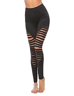 tanie Getry-Damskie Sport Jednolity kolor Legging - Jendolity kolor / Sportowy look / Obcisłe