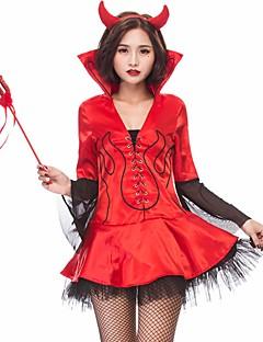 billige Voksenkostymer-Trollmann/heks Oktoberfest Cosplay Kostumer Halloween Utstyr Kvinnelig Halloween Karneval Oktoberfest Festival / høytid Halloween-kostymer
