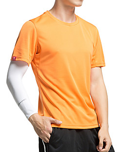 cheap Cycling Underwear & Base Layer-KORAMAN Men's Short Sleeves Cycling Jersey - Orange Army Green Blue Grey Bike Quick Dry, Ultraviolet Resistant, Breathable, Sweat-wicking
