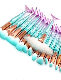 povoljno -15pcs Četke za šminku profesionalac Kist za sjenilo / Kist za ruž / Kist za puder Nylon Brush / Synthetic Hair / Others Eco-friendly /