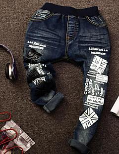 billige Jeans til drenge-Drenge Jeans Forår Blå