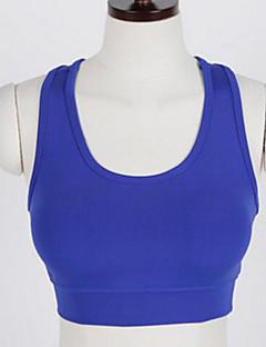 billige Løbetøj-Dame SportsBH'er Sport SportsBH'er Yoga, Pilates, Træning & Fitness Hurtigtørrende, Åndbarhed, Svedreducerende Sort, Mørkeblå, Skovgrøn