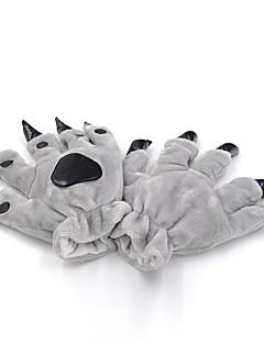 billige Kigurumi-Voksne Dinosaur Onesie-pysjamas Kostume Plysj-stoff Grønn / Blå / Rosa Cosplay Til Pysjamas med dyremotiv Tegnefilm Halloween Festival / høytid