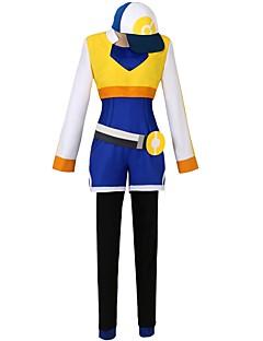 """billige Anime Kostymer-Inspirert av Pocket Little Monster Anime  """"Cosplay-kostymer"""" Cosplay Klær Annen Langermet Frakk / Trikot / Heldraktskostymer / Bukser Til Herre / Dame Halloween-kostymer"""