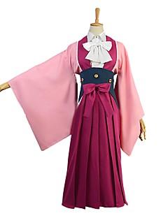 """billige Anime Kostymer-Inspirert av Kabaneri Of The Iron Fortress Cosplay Anime  """"Cosplay-kostymer"""" Cosplay Klær Annen Langermet Halsklut Genser Skjørte Sløyfe"""