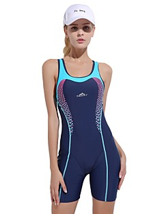 cheap Athletic Swimwear-Women's One Piece Swimsuit Comfortable, Sports Nylon / Spandex Sleeveless Swimwear Beach Wear Bodysuit Swimming