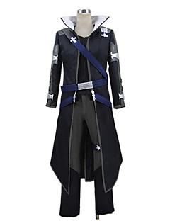 """billige Anime Kostymer-Inspirert av Sword Art Online SAO Kirito Swordman Cosplay Anime  """"Cosplay-kostymer"""" Cosplay Klær Annen Langermet Topp Bukser Hansker Mer"""