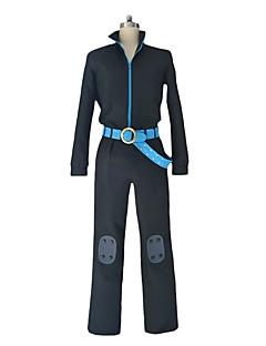 """billige Anime cosplay-Inspirert av One Piece Sanji Cosplay Anime  """"Cosplay-kostymer"""" Cosplay Klær Annen Langermet Topp Bukser Hansker Midjebelte Til Herre Dame"""