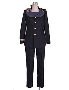 baratos Fantasias Anime-Inspirado por Bizarre Adventure JoJo Fantasias Anime Fantasias de Cosplay Ternos de Cosplay Outro Manga Longa Blusa / Calças / Mais Acessórios Para Homens / Mulheres