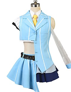 """billige Anime cosplay-Inspirert av Programmene Frontier Cosplay Anime  """"Cosplay-kostymer"""" Cosplay Klær Annen Kortermet Genser / Topp / Skjørte Til Herre / Dame Halloween-kostymer"""