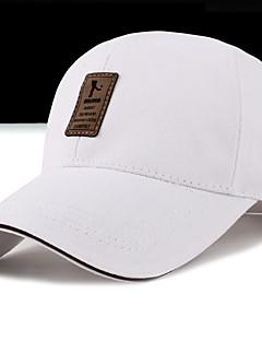 お買い得  ファッション帽子-男女兼用 コットン, プリント ベースボールキャップ