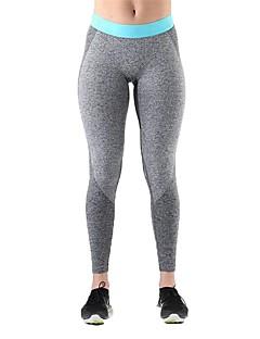 billige Løbetøj-Dame Løbebukser - Rød, Blå Sport Tights Yoga, Træning & Fitness Sportstøj Åndbarhed, Sømløs Elastisk
