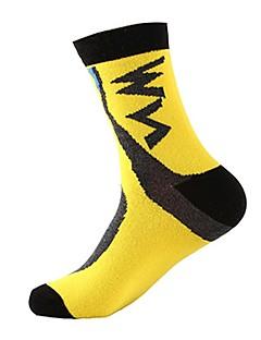 cheap Cycling Socks-Sport Socks / Athletic Socks Socks Bike / Cycling Socks Unisex Breathability 1 Pair Spring, Fall, Winter, Summer Yarn Dyed Cotton