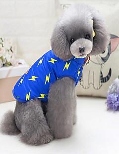 billiga Hundkläder-Hund Katt Tröja Tyg Hundkläder Andra Mörkblå Blå Vadderat tyg Bomullstyg Polär Ull Kostym För husdjur Ledigt/vardag Euramerikansk