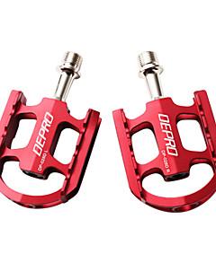 billige Pedaler-Pedaler Fritidssykling Sykling / Sykkel Sykkel med fast gir BMX Vei Sykkel Fjellsykkel Aluminiumslegering Rød