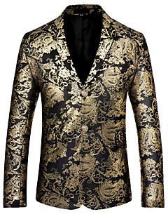 billige Herremote og klær-Blazer - Blomstret Vintage Helg Herre