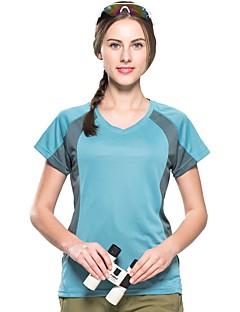 baratos Camisetas para Trilhas-Mulheres Camiseta de Trilha Ao ar livre Secagem Rápida, Respirabilidade, Redutor de Suor Camiseta N / D Acampar e Caminhar / Exercicio Exterior / Multi-Esporte