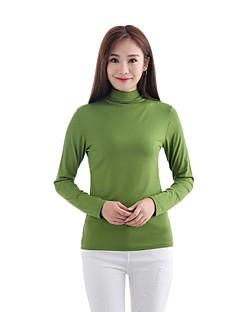 billiga Mammakläder-Enfärgad Helgdag T-shirt - Vintage / Grundläggande Dam