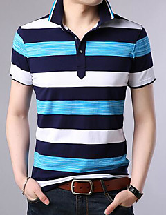 Men's Basic Polo - Color Block