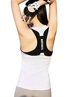 billige Løbetøj-Dame Åben Ryg Løbesinglet - Blå, Lys pink, Grå Sport Toppe Yoga, Fitness, Træningscenter Sportstøj Hurtigtørrende, Åndbarhed, Svedreducerende Elastisk