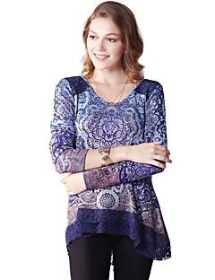 お買い得  レディーストップス-女性用 祝日 Tシャツ ボヘミアン ルーズ 幾何学模様