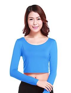 billiga Mammakläder-Enfärgad T-shirt-Aktiv Streetchic Dam