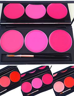 billiga Läppar-Dagligen Flytande Läpp Party Läppglans Läppstift Allt-i-ett varaktig Bästa kvalitet Läppar Sotig makeup Kattögonmakeup Älvlik makeup