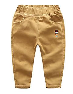 billige Babyunderdele-Baby Drenge Ensfarvet Uden ærmer Bukser