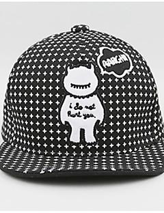 tanie Akcesoria dla dzieci-Kapelusze i czapki - Dla obu płci - Wiosna - Bawełna White Black