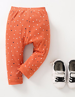 billige Babyunderdele-baby daglig polka dot bukser, polyester forår sommer gul rødme pink orange 70 80 110 100 90