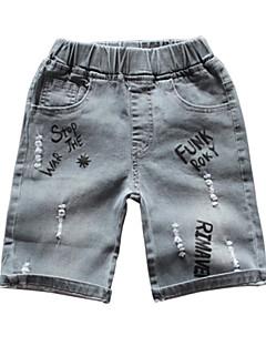 billige Drengebukser-Børn Drenge Trykt mønster Shorts