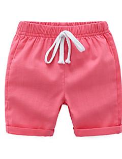 billige Bukser og leggings til piger-Børn / Baby Unisex Ensfarvet Shorts