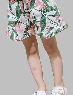 billige Bukser og leggings til piger-Børn Pige Trykt mønster Shorts