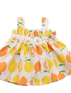 billige Pigetoppe-Børn Pige Frugt Uden ærmer Bluse