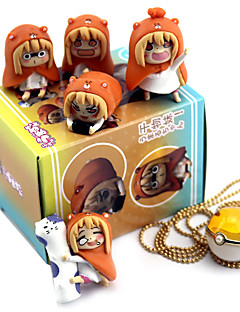 billige Anime cosplay-Anime Action Figurer Inspirert av Himouto C.C. PVC 3cm CM Modell Leker Dukke