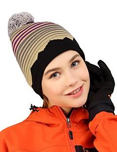 tanie Odzież turystyczna-VEPEAL Czapka turystyczna Kapelusz Odporność na wiatr Zatrzymujący ciepło Elastyczny Zima Niebieski Unisex Wędkarstwo Piesze wycieczki Podróżowanie Pasek Moda Dla dorosłych