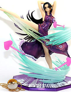 billige Anime cosplay-Anime Action Figurer Inspirert av One Piece Boa Hancock PVC 18 cm CM Modell Leker Dukke