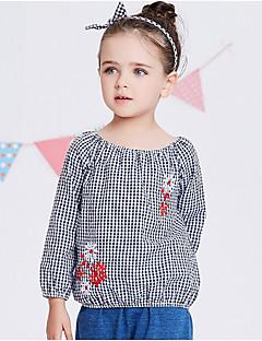 billige Babyoverdele-Baby Pige Ruder Langærmet Skjorte