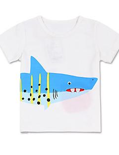 billige Overdele til drenge-Børn Drenge Trykt mønster Uden ærmer T-shirt