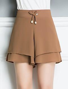 billige Damemode og tøj-Dame Basale / Gade Shorts Bukser Ensfarvet