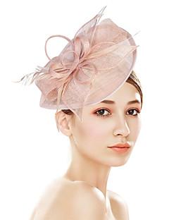 billige Hårpynt til damer-Dame Vintage / Elegant Hårbånd / Hårklemme / fascinator - Blomst